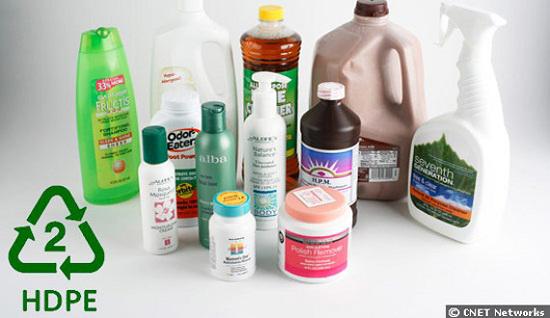 HDPE là loại nhựa được các chuyên gia khuyên dùng vì độ an toàn của chúng