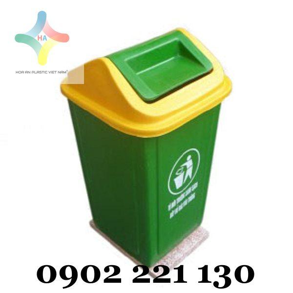 Mua thùng rác nhựa ở đâu giá tốt, đảm bảo chất lượng