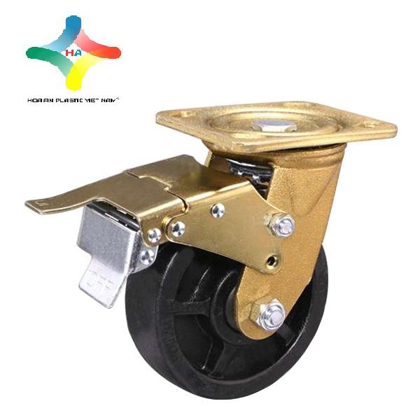 Bánh xe cao suHòa Ancó đặc tính bền bỉ, độ đàn hồi cao, dễ dàng sử dụng.