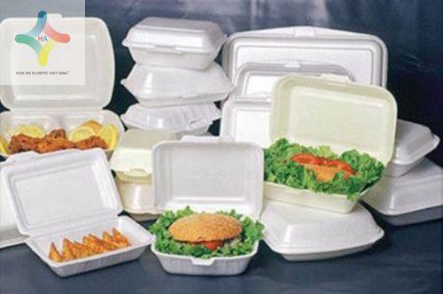 Hộp xốp ở các quán ăn nên hạn chế sử dụng một cách tối đa