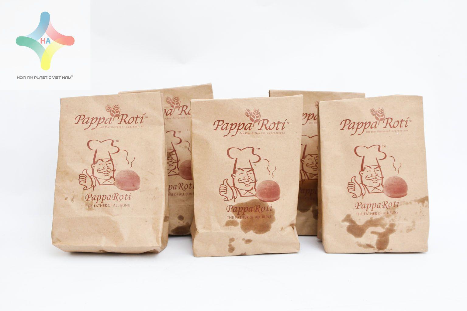 Sử dụng túi giấy đựng thực phẩm thay vì sử dụng hộp xốp