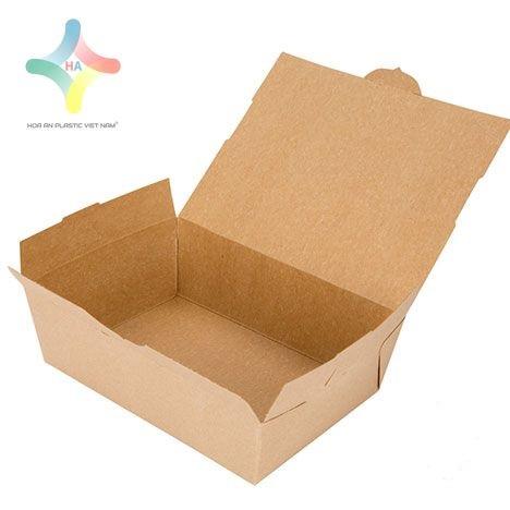 Sử dụng hộp giấy đựng thực phẩm thay vì sử dụng hộp xốp
