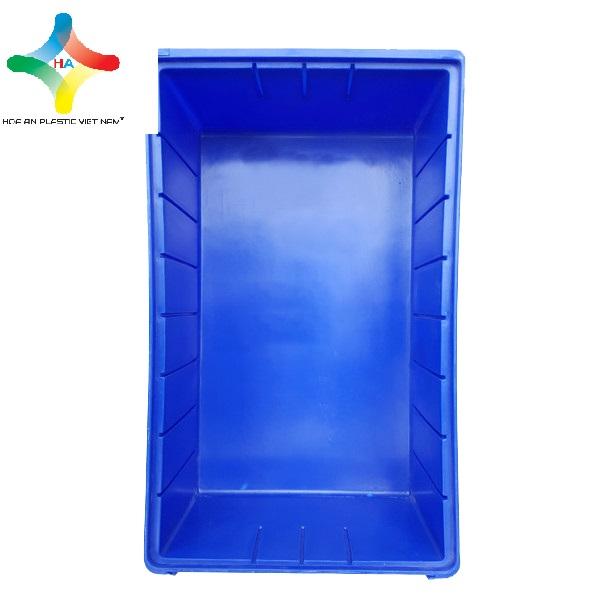 Thùng nhựa đặc (sóng nhựa bít) KPT01 khoang đáy dài rộng