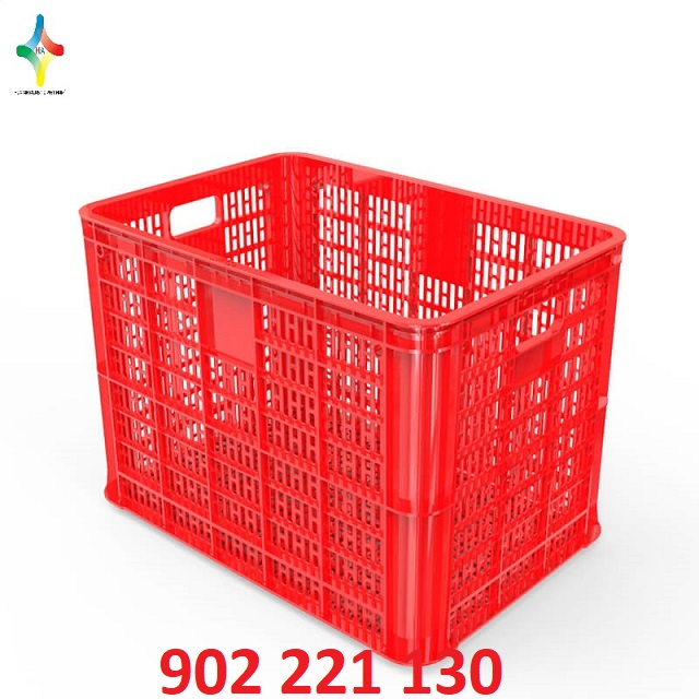 Sóng nhựa (rổ nhựa) HS005 được sử dụng phổ biến trong may mặc