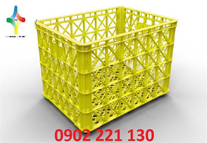Sóng nhựa (rổ nhựa) HS022-SH được sử dụng phổ biến trong may mặc